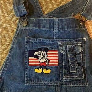 Vintage Mickey Mouse Overalls